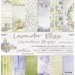 LAVENDER BLISS - zestaw papierów 30,5x30,5cm