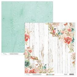 Birdsong 04 papier dwustronny 30,5x30,5 cm MINTAY