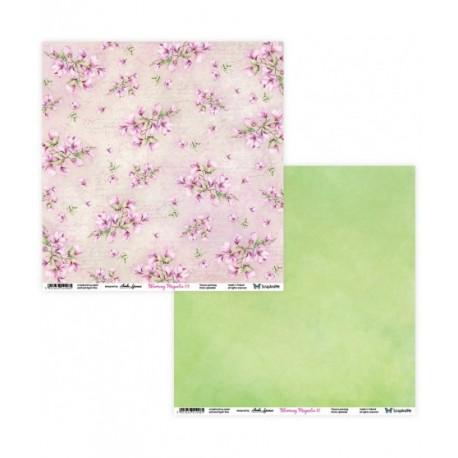 Blooming Magnolia 11/12 papier dwustronny 305,x305cm