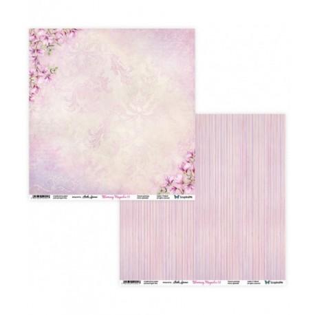 Blooming Magnolia 03/04 papier dwustronny 30,5,x30,5cm