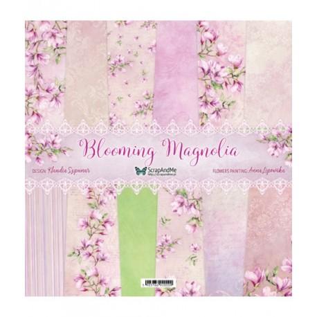 Blooming Magnolia  zestaw papierów 30,5 x 30,5 cm
