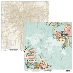 WANDERLUST 01 papier dwustronny 30,5x30,5 cm MINTAY