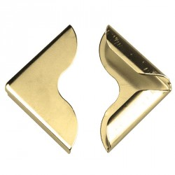 Narożnik metalowy ZŁOTY 25mm