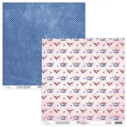 Together 02 papier dwustronny 30,5x30,5 cm MINTAY