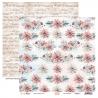 COTTON WINTER 04 papier dwustronny 30,5x30,5 cm SCRAPBOYS