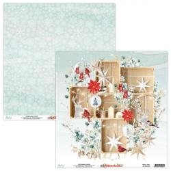WINTERLAND 04 papier dwustronny 30,5x30,5 cm MINTAY