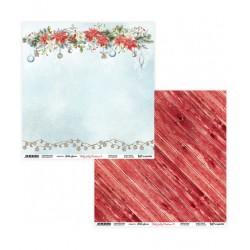 Holly Jolly Christmas 11/12 papier dwustronny 305,x305cm