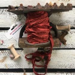 Old Fashion wstążka vintage rdzawy brąz