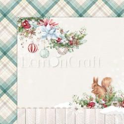 THIS CHRISTMAS 02  Papier dwustronny 30,5x30,5 LEMONCRAFT