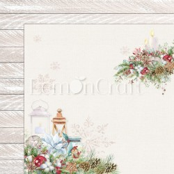 THIS CHRISTMAS 01  Papier dwustronny 30,5x30,5 LEMONCRAFT
