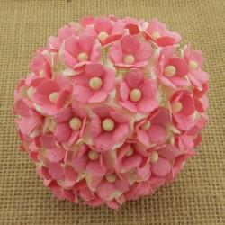 MIX jasno różowe sweetheart 15mm, zestaw 100szt.