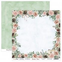 WINTER TIME 02  papier dwustronny 30,5x30,5 cm SCRAPBOYS