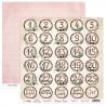 WINTER TIME 04  papier dwustronny 30,5x30,5 cm SCRAPBOYS