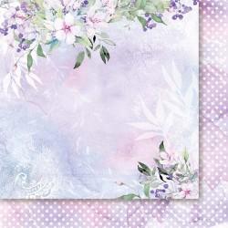 Zza mgły 03 - papier 30,5x30,5cm Paper Heaven