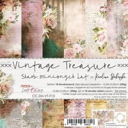 LOVE ME FOREVER - zestaw papierów 15x15cm