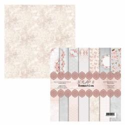 Romantica zestaw dużych papierów Scrap8