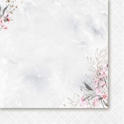Pierścień i róża 02 - papier 30,5x30,5cm Paper Heaven