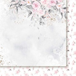 Pierścień i róża 01 - papier 30,5x30,5cm Paper Heaven
