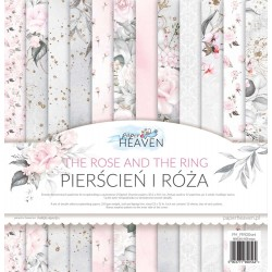Pierścień i róża  - Zestaw papierów 30x30 cm - Paper Heaven GP