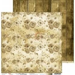 BROWN MOOD - 03 dwustronny papier 30,5x30,5cm