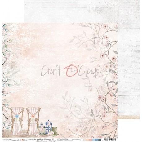WEDDING DREAM - 03 dwustronny papier 30,5x30,5cm