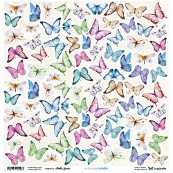 Scrap&Me Butterflies  - Arkusz Do Wycinania
