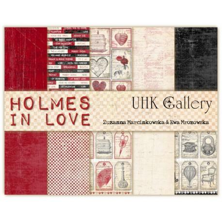UHK ENOLA HOLMES - zestaw papierów 30,5x30,5cm