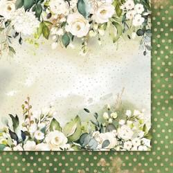 Złote sny 02 - papier 30,5x30,5cm Paper Heaven