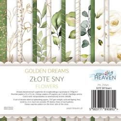Spacer w chmurach -FLOWERS - Zestaw z elementami do wycinania - Paper Heaven