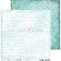 TURQUOISE MOOD - 01 dwustronny papier 30,5x30,5cm