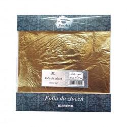 Folia do złoceń 14x14 cm SeeArt miedź 10szt