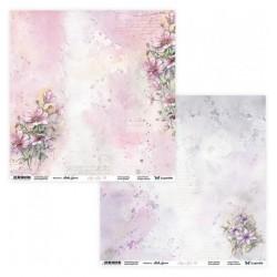 Aquarelles 01/02 papier dwustronny 30,5x30,5cm ScrapAndMe