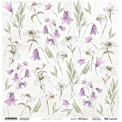 Rosy Days Flowers - Arkusz Do Wycinania ScrapAndMe