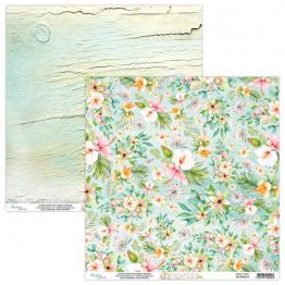 PARADISE 04 papier dwustronny 30,5x30,5 cm MINTAY