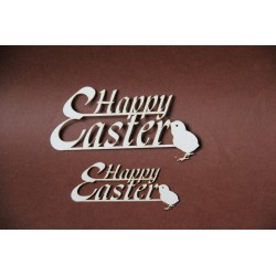 Tekturka napis HAPPY EASTER mały