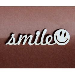Tekturka napis SMILE 23a