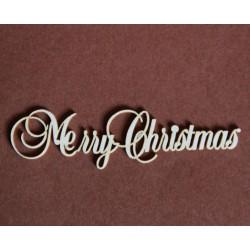 Tekturka napis MERRY CHRISTMASS 27