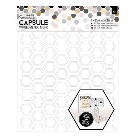 Capsule Hexagonal samoprzylepny szablon