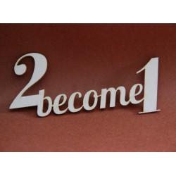 Napis 2 become 1