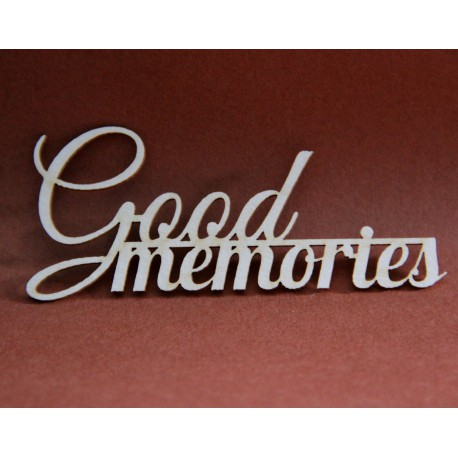 Napis Good Memories
