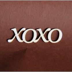 Tekturka napis XOXO 132