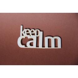 Tekturka napis KEEP CALM