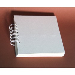 Baza albumowa 15x15cm zestaw 12 kart na spirali