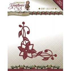 Amy Design Poinsettia Corner