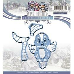 Christmas Owls wykrojnik 5 el.