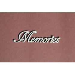 Tekturka napis MEMORIES 20a