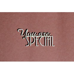 Tekturka napis YOU'RE SPECIAL 26a