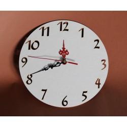 Zegar ścienny cyfry arabskie BEZ MECHANIZMU