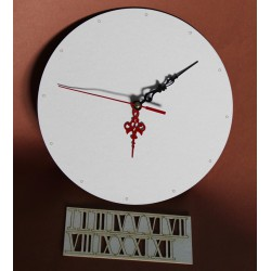 Zegar ścienny cyfry rzymskie BEZ MECHANIZMU
