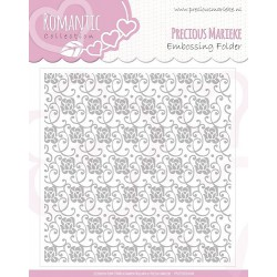 Embossing Folder -  Precious Marieke - Romance